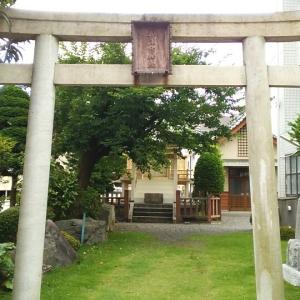 月曜恒例 CHI→散歩ぶらり葵区 奥津彦神社
