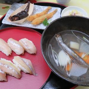 鵡川町へししゃもとししゃも寿司を食べに行って来ました☆