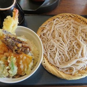 「そば処・信州庵」お蕎麦と天丼のセットがなんと630円!