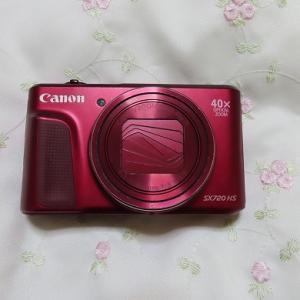 念願だったカメラの買い替え☆canonパワーショットSX720HSから740HSへ☆