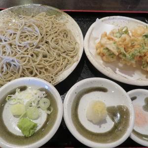 澄川の人気蕎麦店「みやび屋」で海鮮かき揚げせいろ再び☆12月末までの限定です☆