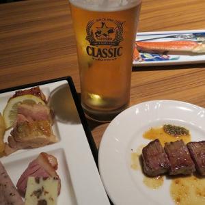 函館プリンスホテル渚亭の夕食バイキング☆お肉・カニ・お刺身・お寿司が食べ放題☆