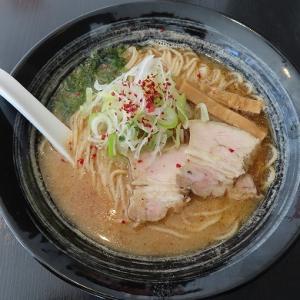 南区澄川の「麺処まるはRISE」で中華そば味噌☆貝出汁とガーリックのハーモニー☆