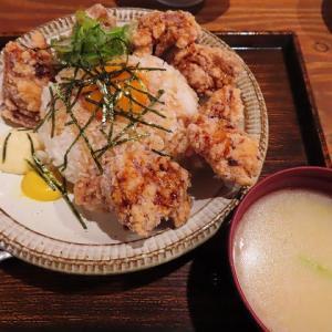 コスパ最強!SAPPORO餃子製造所のザンギたっぷりTKG390円!