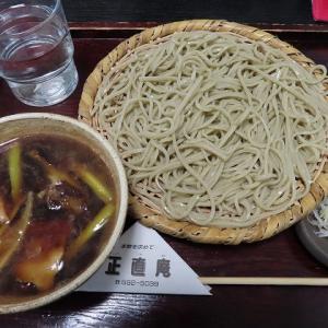 南区石山の美味しいお蕎麦「正直庵」でかしわセイロ☆