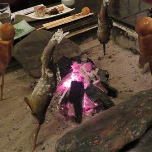 祖谷温泉・渓谷の隠れ宿「祖谷美人」で囲炉裏を囲んだ贅沢な夕食☆祖谷蕎麦も絶品☆