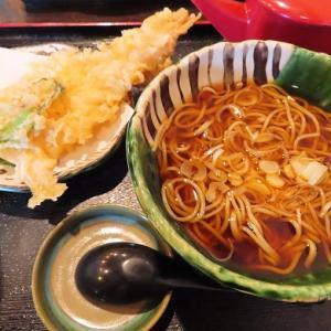 澄川の人気店・蕎麦みやび屋で海老天蕎麦☆