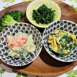ウドの天ぷら、セリのお浸し、筍煮で日本酒を楽しんだ夜☆