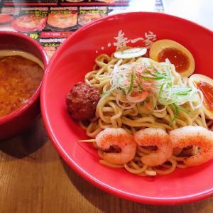 らーめん春一家・三代目麺宿で濃厚な美味しさのえび塩つけ麺☆