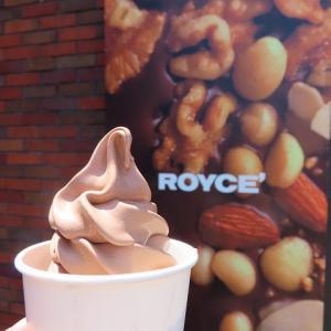 チョコ好きには堪らない☆ロイズのチョコソフト☆ローズガーデンももう一度☆