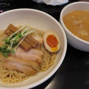 東区伏古のらーめん小屋・歩(ふ)季節限定のゆず香る味噌つけ麺☆