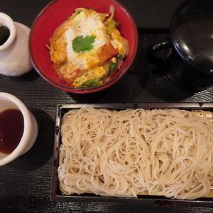 蕎麦と丼ぶり「蕎麦人~jin~」で冷たいお蕎麦&ミニカツ丼のセット☆