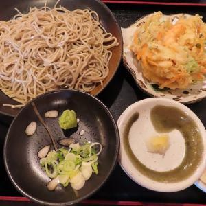 澄川の人気店「蕎麦・みやび屋」海鮮かき揚げセイロ・玉ねぎアリ・ナシの比較☆