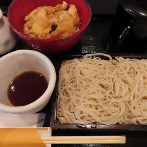 蕎麦と丼ぶり「蕎麦人~jin~」私の一番人気はミニ鶏天丼セット690円☆