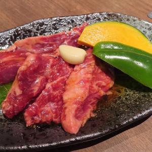 大人気の焼き肉さんか亭で赤身ロースとスペシャルサガリのランチ☆