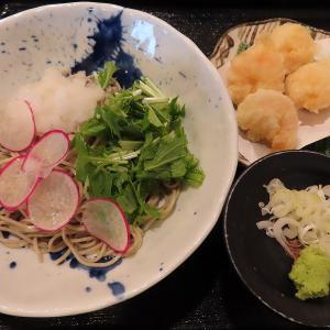 澄川の人気店「蕎麦みやび屋」で今季最後の小海老天おろしそばを新蕎麦で☆