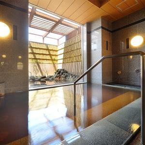 露天風呂もある天然温泉付きビジネスホテル・ルートイングランディア知床☆