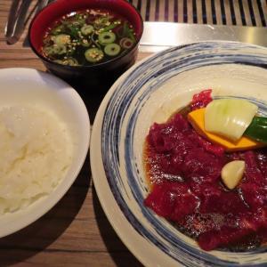 白石区の大人気焼き肉店「さんか亭」で赤肉ロースランチとスペシャルサガリ☆