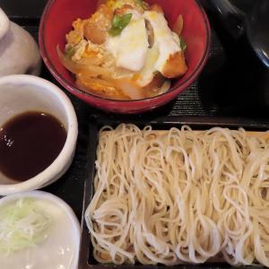 蕎麦と丼ぶり「蕎麦人~jin~」で冷たいお蕎麦とミニカツ丼セット☆