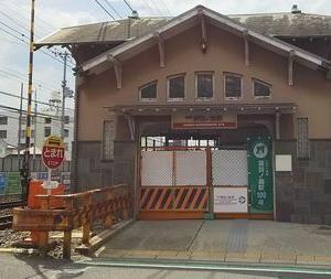 諏訪ノ森駅は訪問できたけど、高師浜駅はまた今度
