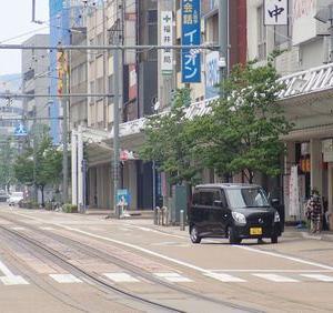 越前国全路線完乗の旅⑮ 福井市内併用軌道区間で完乗達成
