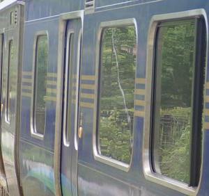しなの鉄道新型車両SR1系「軽井沢リゾート」号に乗って来た