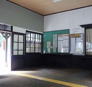 木曽路、木造駅舎と宿場町巡り(日帰り)⑤ 贄川駅と贄川宿(にわか雨)