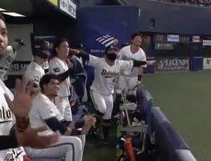 10/24 マリーンズ22回戦 頓宮上々の一軍捕手デビュー!