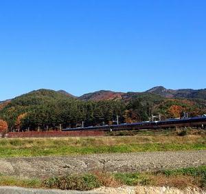 篠ノ井線紅葉&駅巡り⑤冠着駅