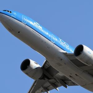 KLM B777-200ER 100th Anniversary Livery