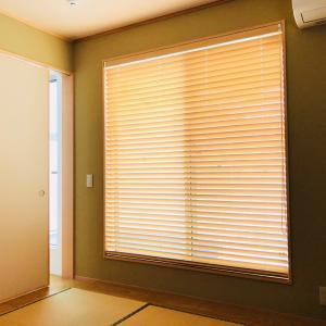 ディテール: 木製ブラインド ヒノキ