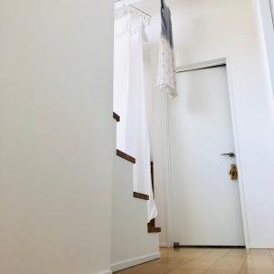 《我が家的 高ポイント》高さを出して、快適な室内干し空間を⭐️