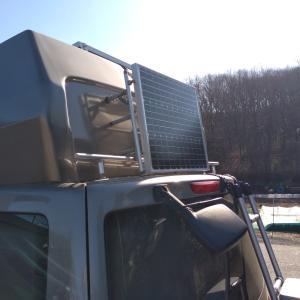 車載ソーラーパネルパワーアップ