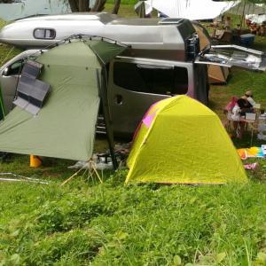 今年も西湖でキャンプ①
