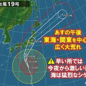 【情報】台風19号のゆくえと、ゲームと風がわかるサイト