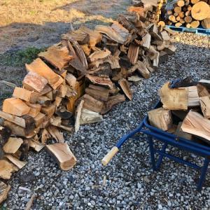 【自宅用薪】ハンパ薪がハンパない。
