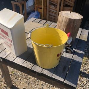 【メンテナンス】BESSワンダーデバイスのデッキ塗装準備(水洗い)
