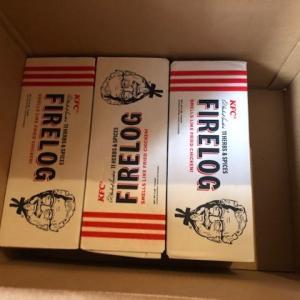 【個人輸入】アメリカからケンタッキーフライドチキンの香りのする薪を追加入荷
