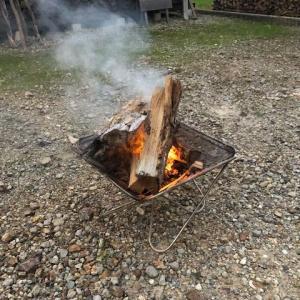 【焚き火を楽しもう】焚き火をする