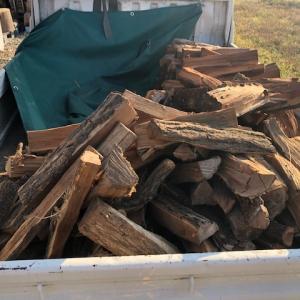 【薪ストーブ】自宅用の薪をまたまた山から移動
