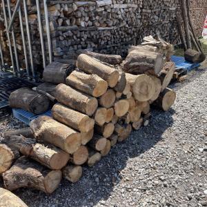 【薪割り】雑木を割る