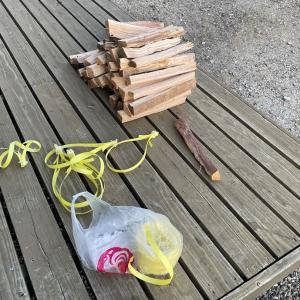 【焚き火用】針葉樹薪束を作る