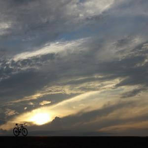久し振りの夕サイ。〔秋はもうすぐそこまで来ていますね〕