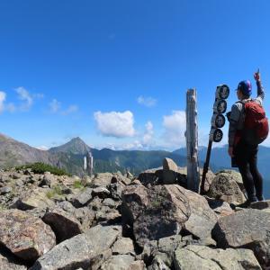 ぼっちで歩こう♪南アルプス〔白峰三山の一座、農鳥岳へ〕