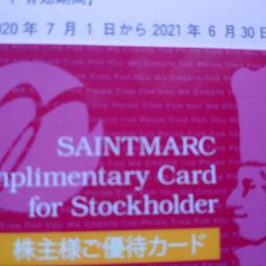 サンマルク優待カードとあさくま郵送議決行使で食事券