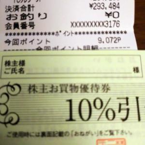 ニトリでお買い物(株主優待券忘れずに~)