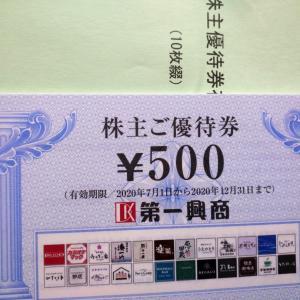第一興商・ジーテクト・アサンテ・コタ株主優待品