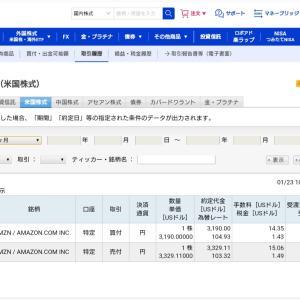 初めての米国株取引・超ひよっこ~