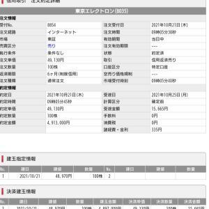 エレクトロンチャンス♪7秒トレ~とMS&AD3700円割れ買い~