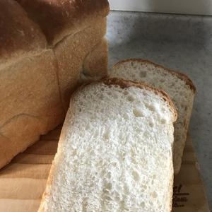 山梨県産ゆめかおりの山食パン~強力粉全量の10%をゆめかおりに